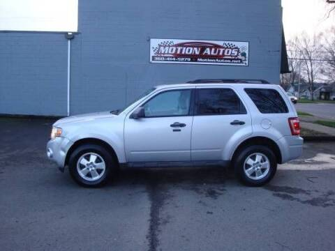 2012 Ford Escape for sale at Motion Autos in Longview WA