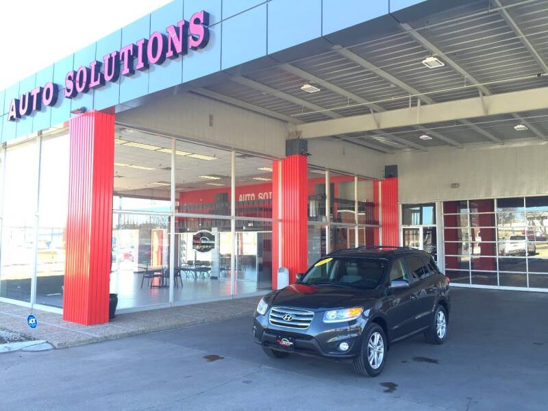 2012 Hyundai Santa Fe for sale at Auto Solutions in Warr Acres OK