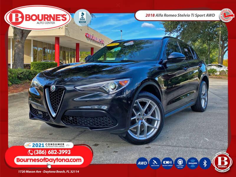 2018 Alfa Romeo Stelvio for sale at Bourne's Auto Center in Daytona Beach FL