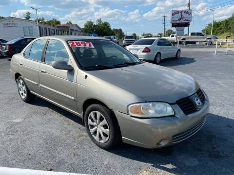 2004 Nissan Sentra for sale at Rock 'n Roll Auto Sales in West Columbia SC