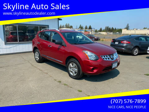2015 Nissan Rogue Select for sale at Skyline Auto Sales in Santa Rosa CA