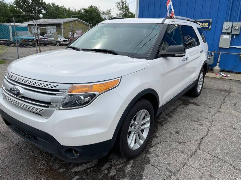 2014 Ford Explorer for sale at CHUCKS AUTO SERVICE LLC in Sturgis MI