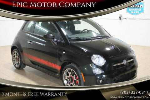 2013 FIAT 500 for sale at Epic Motor Company in Chantilly VA