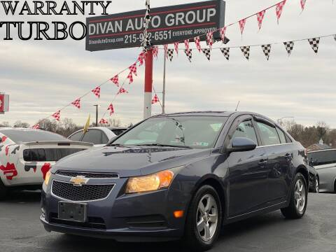 2013 Chevrolet Cruze for sale at Divan Auto Group in Feasterville PA