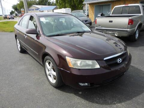 2006 Hyundai Sonata for sale at Cycle M in Machesney Park IL