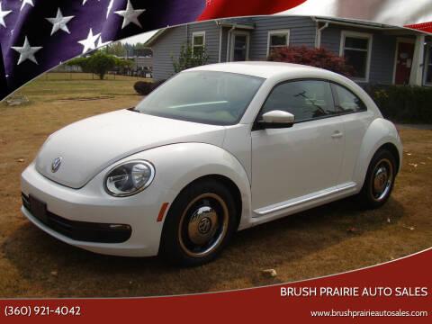 2012 Volkswagen Beetle for sale at Brush Prairie Auto Sales in Battle Ground WA