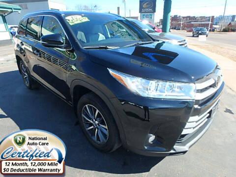 2018 Toyota Highlander for sale at Jon's Auto in Marquette MI