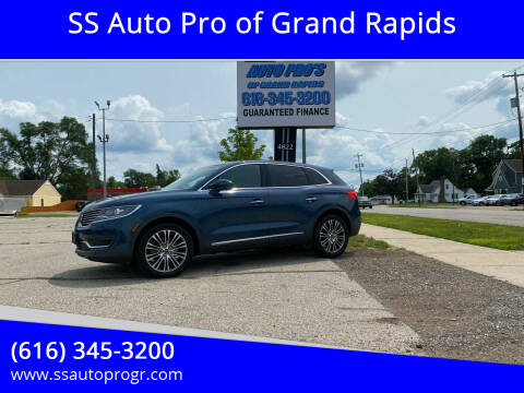 2016 Lincoln MKX for sale at SS Auto Pro of Grand Rapids in Kentwood MI
