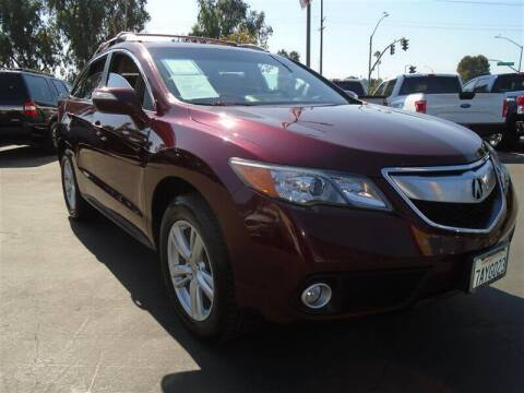 2013 Acura RDX for sale at Centre City Motors in Escondido CA