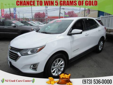 2020 Chevrolet Equinox for sale at New Jersey Used Cars Center in Irvington NJ