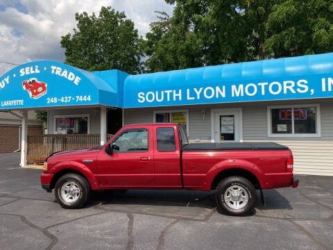 2008 Ford Ranger for sale at South Lyon Motors INC in South Lyon MI