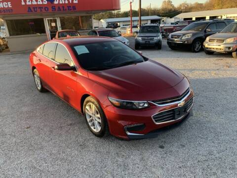 2016 Chevrolet Malibu for sale at Texas Drive LLC in Garland TX