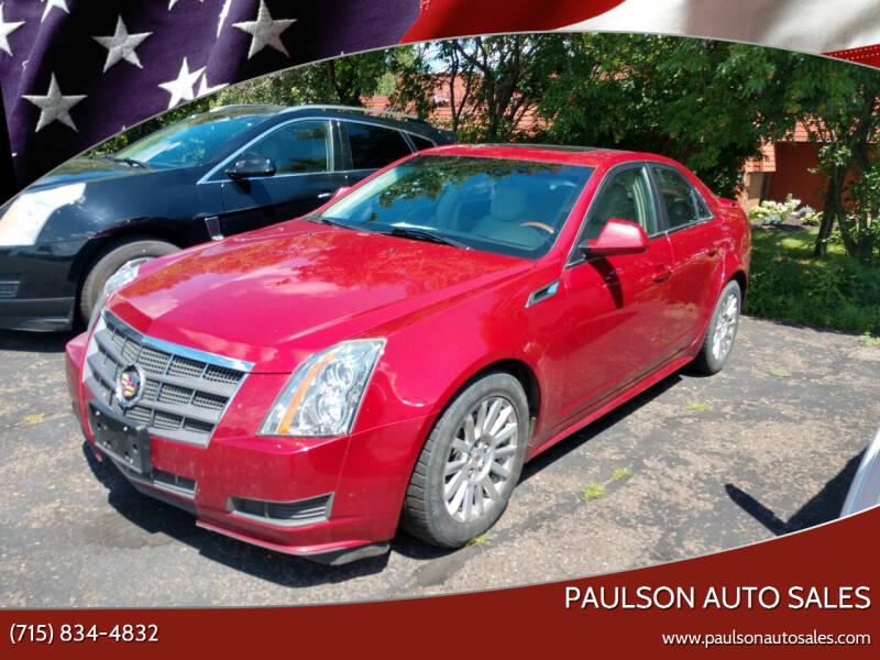 2011 Cadillac CTS for sale at Paulson Auto Sales in Chippewa Falls WI