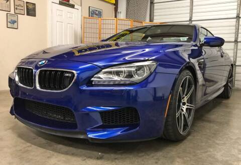 2014 BMW M6 for sale at Muscle Car Jr. in Alpharetta GA