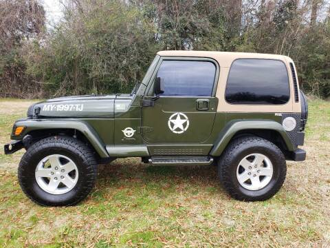 1997 Jeep Wrangler for sale at A-1 Auto Sales in Anderson SC