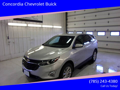 2020 Chevrolet Equinox for sale at Concordia Chevrolet Buick in Concordia KS