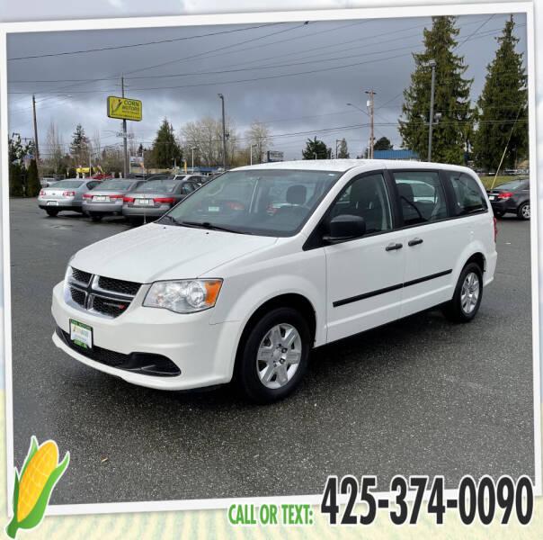 2013 Dodge Grand Caravan for sale at Corn Motors in Everett WA