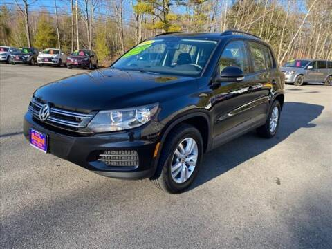 2017 Volkswagen Tiguan for sale at North Berwick Auto Center in Berwick ME