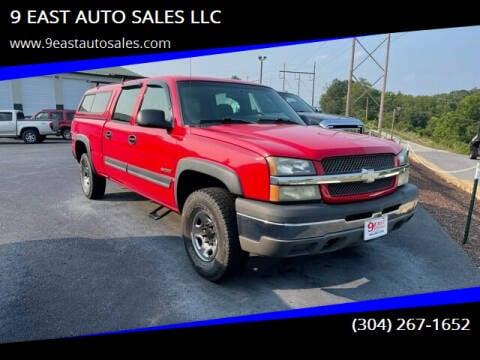 2004 Chevrolet Silverado 2500 for sale at 9 EAST AUTO SALES LLC in Martinsburg WV