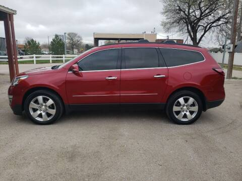 2013 Chevrolet Traverse for sale at Faw Motor Co in Cambridge NE