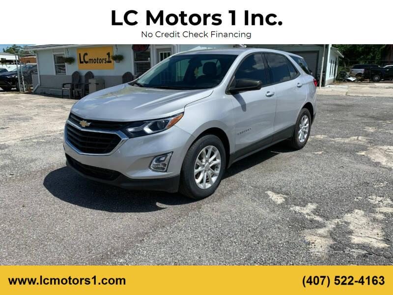 2018 Chevrolet Equinox for sale at LC Motors 1 Inc. in Orlando FL