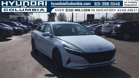 2021 Hyundai Elantra for sale at Hyundai of Columbia Con Alvaro in Columbia TN