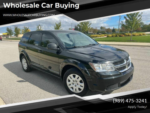 2013 Dodge Journey for sale at Wholesale Car Buying in Saginaw MI