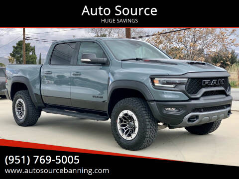 2021 RAM Ram Pickup 1500 for sale at Auto Source in Banning CA