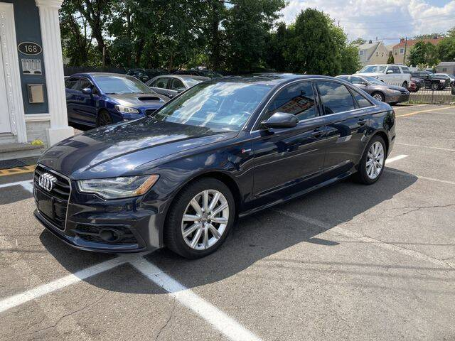 2013 Audi A6 for sale at QUALITY AUTOS in Hamburg NJ