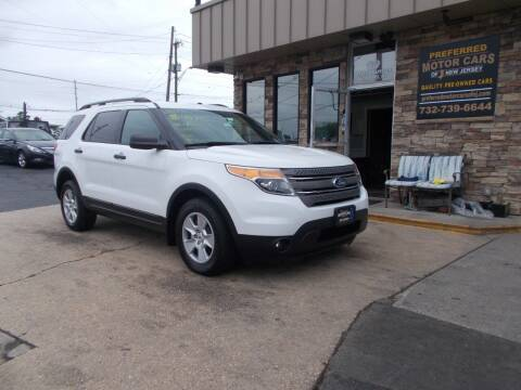 2013 Ford Explorer for sale at Preferred Motor Cars of New Jersey in Keyport NJ