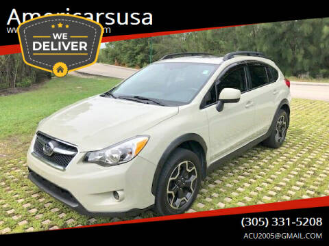 2013 Subaru XV Crosstrek for sale at Americarsusa in Hollywood FL