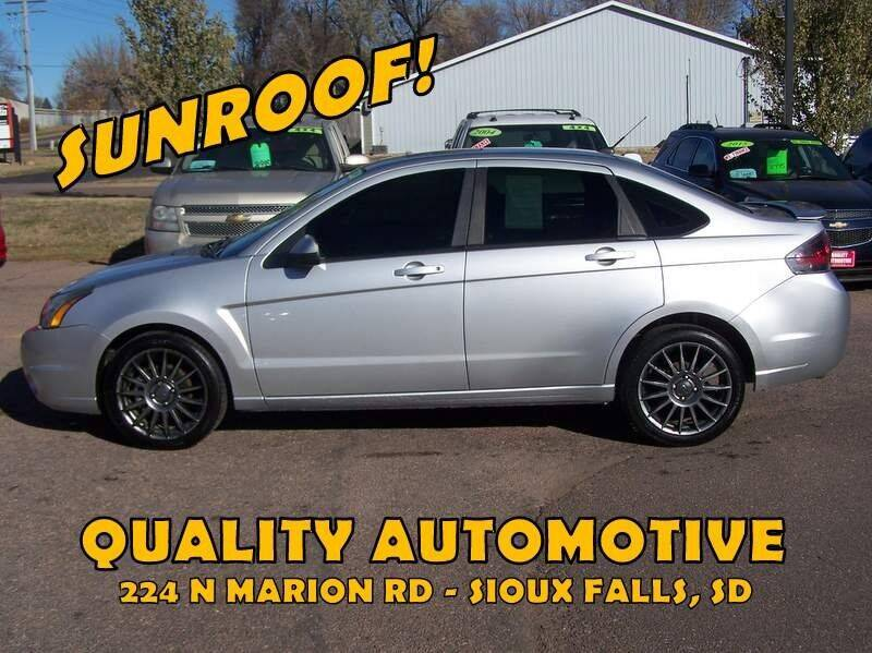 2011 Ford Focus for sale at Quality Automotive in Sioux Falls SD