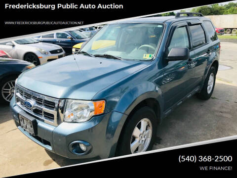 2012 Ford Escape for sale at FPAA in Fredericksburg VA