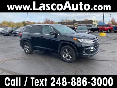 2017 Toyota Highlander for sale at Lasco of Waterford in Waterford MI