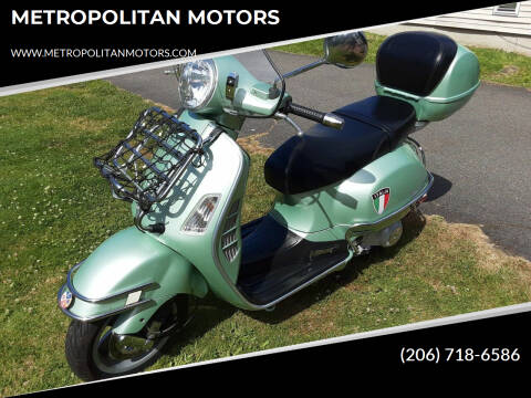 2004 Vespa 200L/200GT/200 for sale at METROPOLITAN MOTORS in Kirkland WA