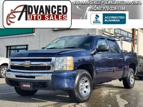 2010 Chevrolet Silverado 1500 for sale at Advanced Auto Sales in Tewksbury MA