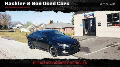 2012 Kia Optima for sale at Hackler & Son Used Cars in Red Lion PA