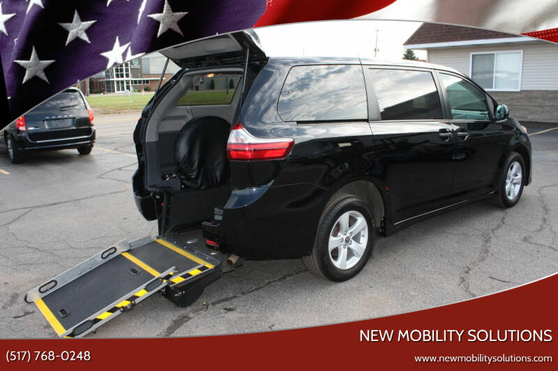 2020 Toyota Sienna for sale at New Mobility Solutions in Jackson MI