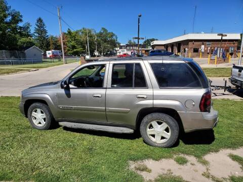2003 Chevrolet TrailBlazer for sale at RIVERSIDE AUTO SALES in Sioux City IA