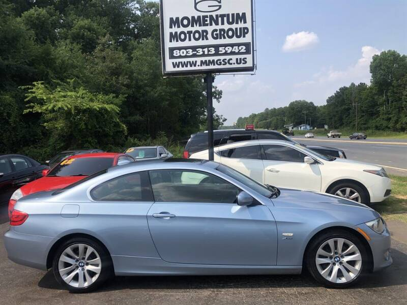 2012 BMW 3 Series for sale at Momentum Motor Group in Lancaster SC