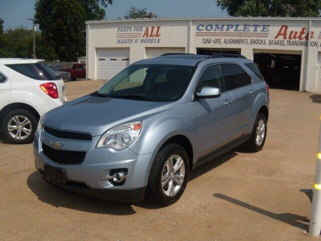 2014 Chevrolet Equinox for sale at PERL AUTO CENTER in Coffeyville KS