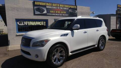 2011 Infiniti QX56 for sale at Advantage Motorsports Plus in Phoenix AZ