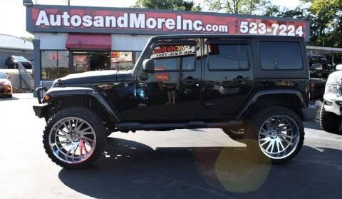 2014 Jeep Wrangler Unlimited for sale at Autos and More Inc in Knoxville TN
