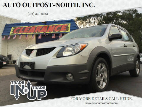 2003 Pontiac Vibe for sale at Auto Outpost-North, Inc. in McHenry IL