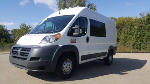 2017 RAM ProMaster Cargo for sale at A & A IMPORTS OF TN in Madison TN