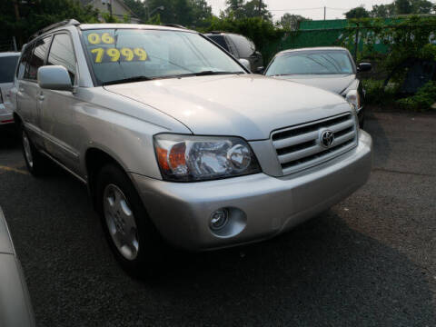 2006 Toyota Highlander for sale at MICHAEL ANTHONY AUTO SALES in Plainfield NJ