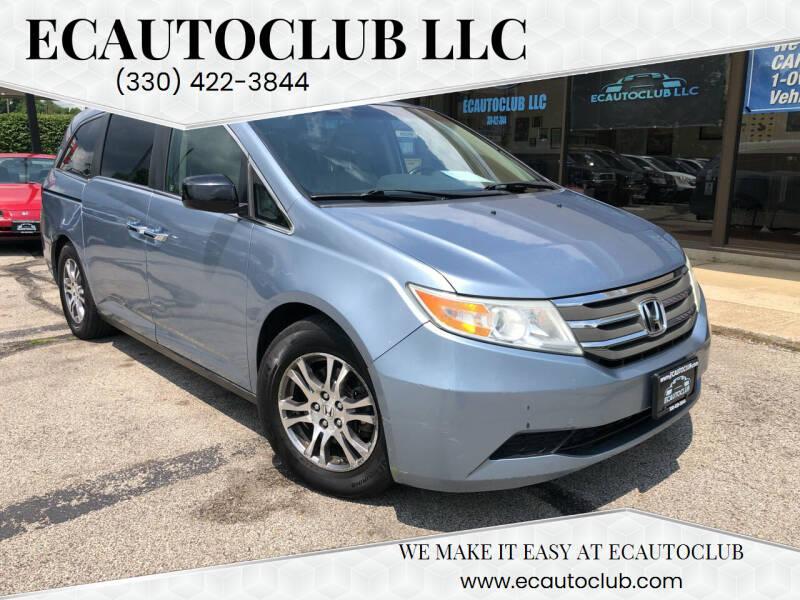 2011 Honda Odyssey for sale at ECAUTOCLUB LLC in Kent OH
