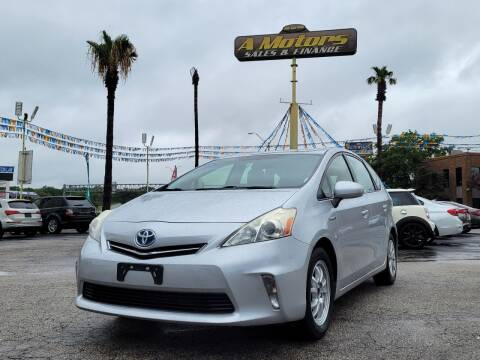 2014 Toyota Prius v for sale at A MOTORS SALES AND FINANCE - 5630 San Pedro Ave in San Antonio TX