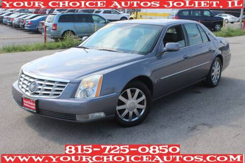 2007 Cadillac DTS for sale at Your Choice Autos - Joliet in Joliet IL