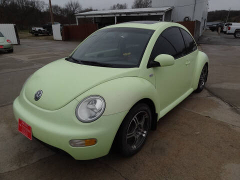 2001 Volkswagen New Beetle for sale at John's Auto Sales in Council Bluffs IA